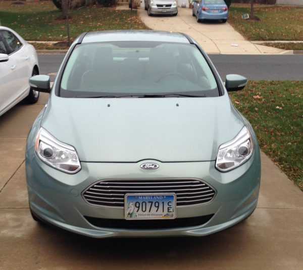 2013 Ford Focus front view