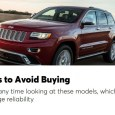 Consumer Reports recently published a comprehensive list of used cars to avoid. The publication usually dedicates at least one issue a year to automotive reliability, but now they've gone even […]