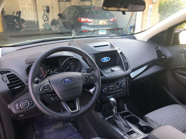 Dashboard of 2018 Ford Escape SE