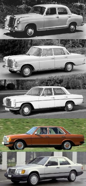 Three Decades Of M-B 200s