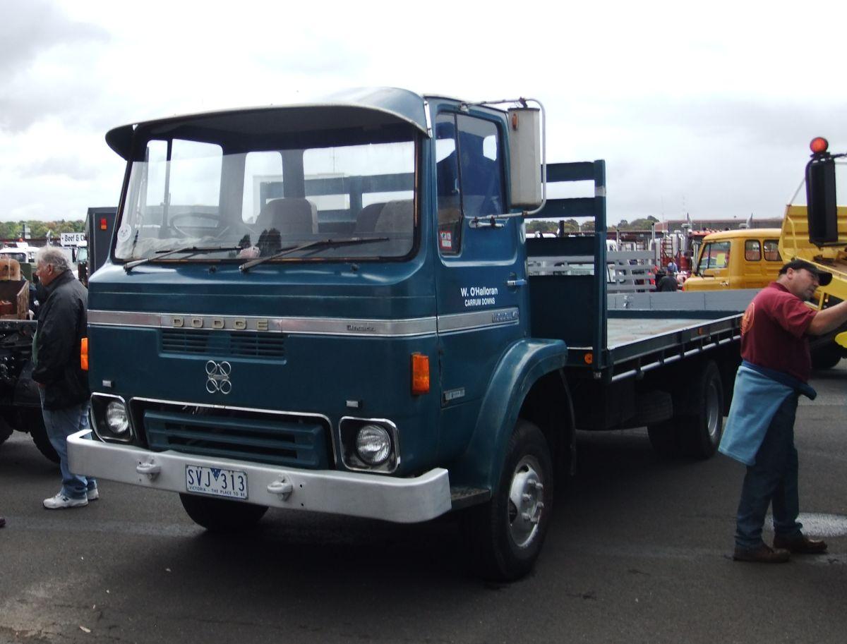 dodge trucks australia history