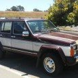 """On a recent sojourn to the city of Hayward, CA I spotted this well-preserved example of the 1986-1990 Jeep Wagoneer (XJ-series). According to Wikipedia, this is not the """"Wagoneer Limited"""", […]"""