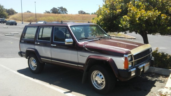 1986-1990 Jeep Wagoneer, two-tone wonder
