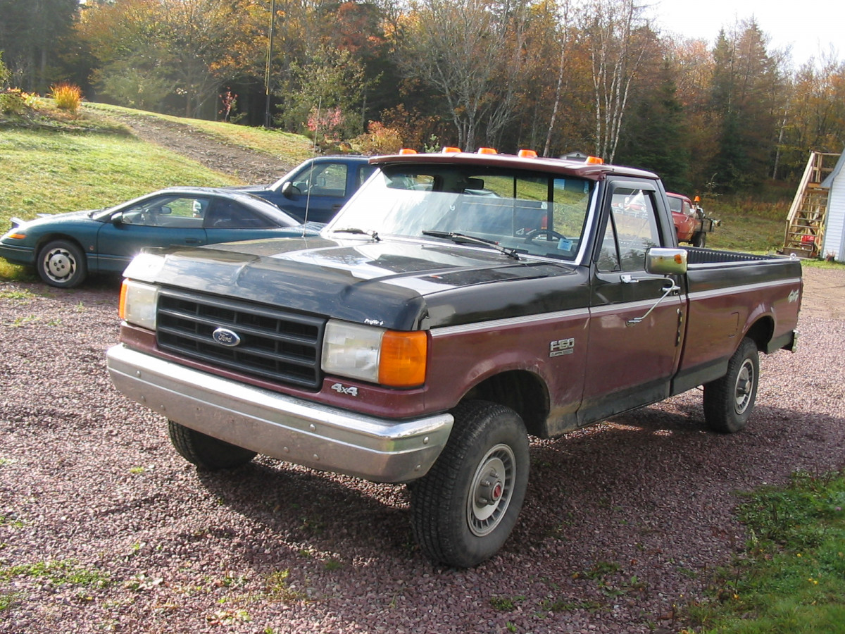 Coal 1987 ford f 150 finally another truck