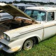 If the 1958 Studebaker Scotsman wagon from last week was all about honest basic transportation, then its platform mate 1958 Packard Station Wagon is all about faking it until you […]