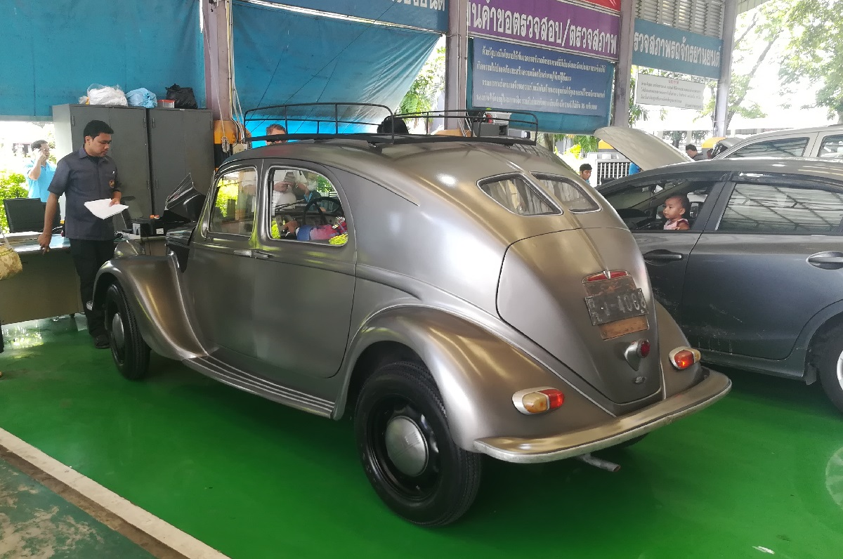 If a car changes hands (or even if it's just been restored and repainted),  the Thai authorities want to know. And if you're planning to use it on the  road, ...