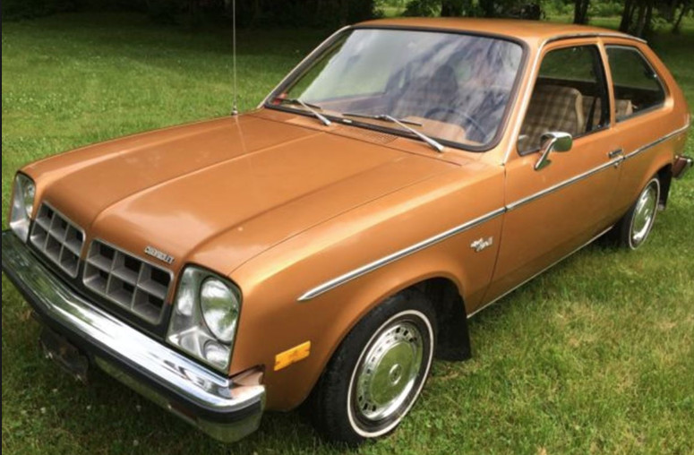 Coal 1978 Chevrolet Chevette Finally My First Car Curbside Classic