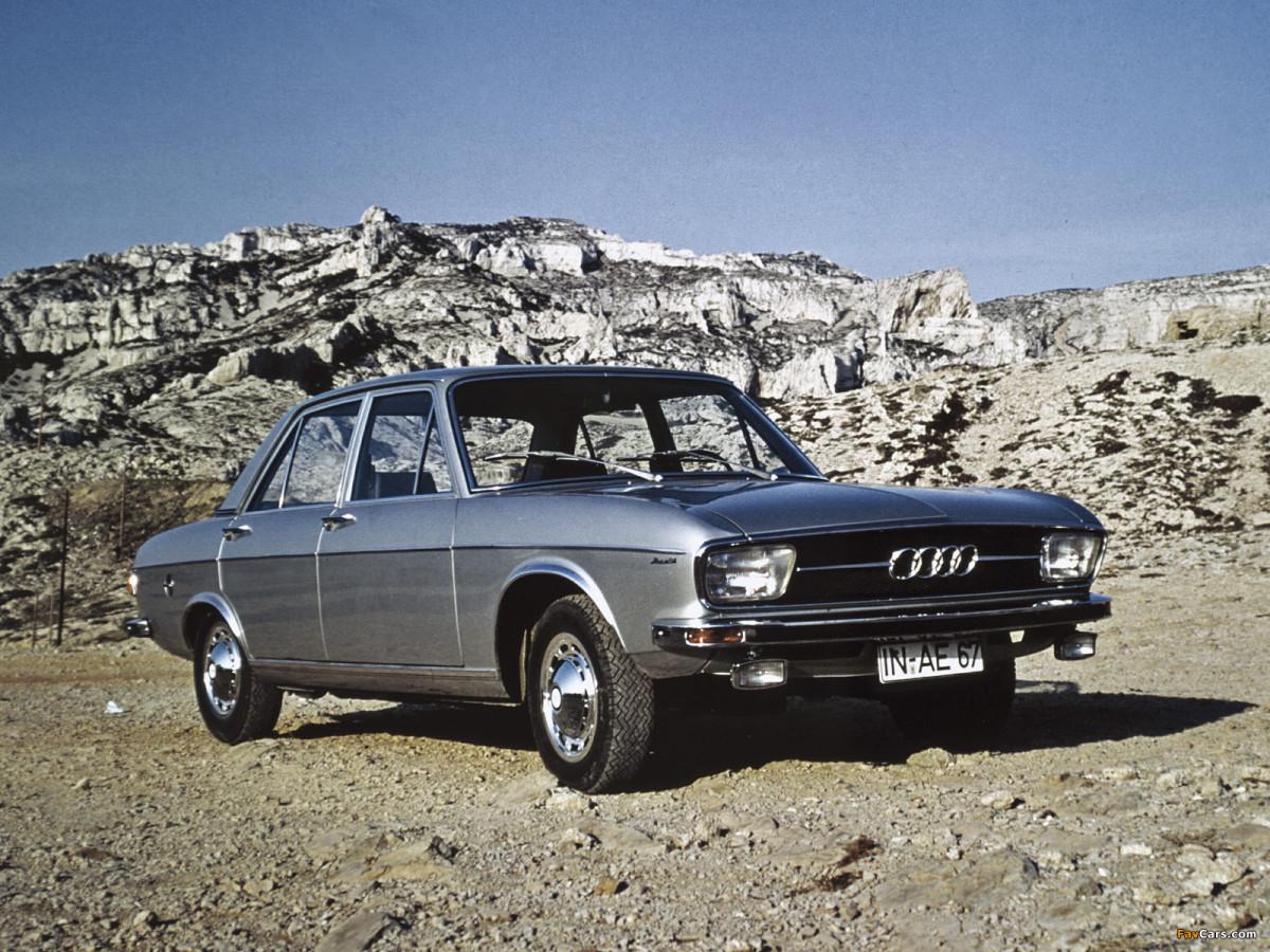 AUTO-UNION AUDI 100 LS 100 COUPE 1971 1972 1973 1974 ...
