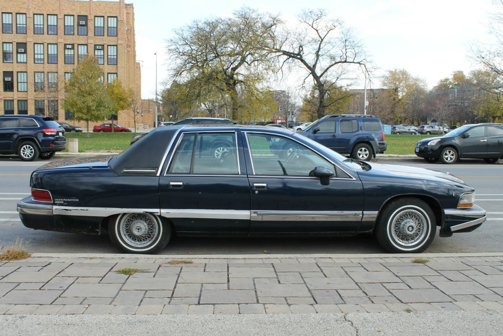 curbside classic 1992 buick roadmaster old kid on the block curbside classic curbside classic 1992 buick roadmaster