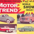 "This week, let's spin the clock back 60 years and check out the January 1959 issue of Motor Trend, which they dubbed their ""World Show Issue!""  Coverage took a look […]"