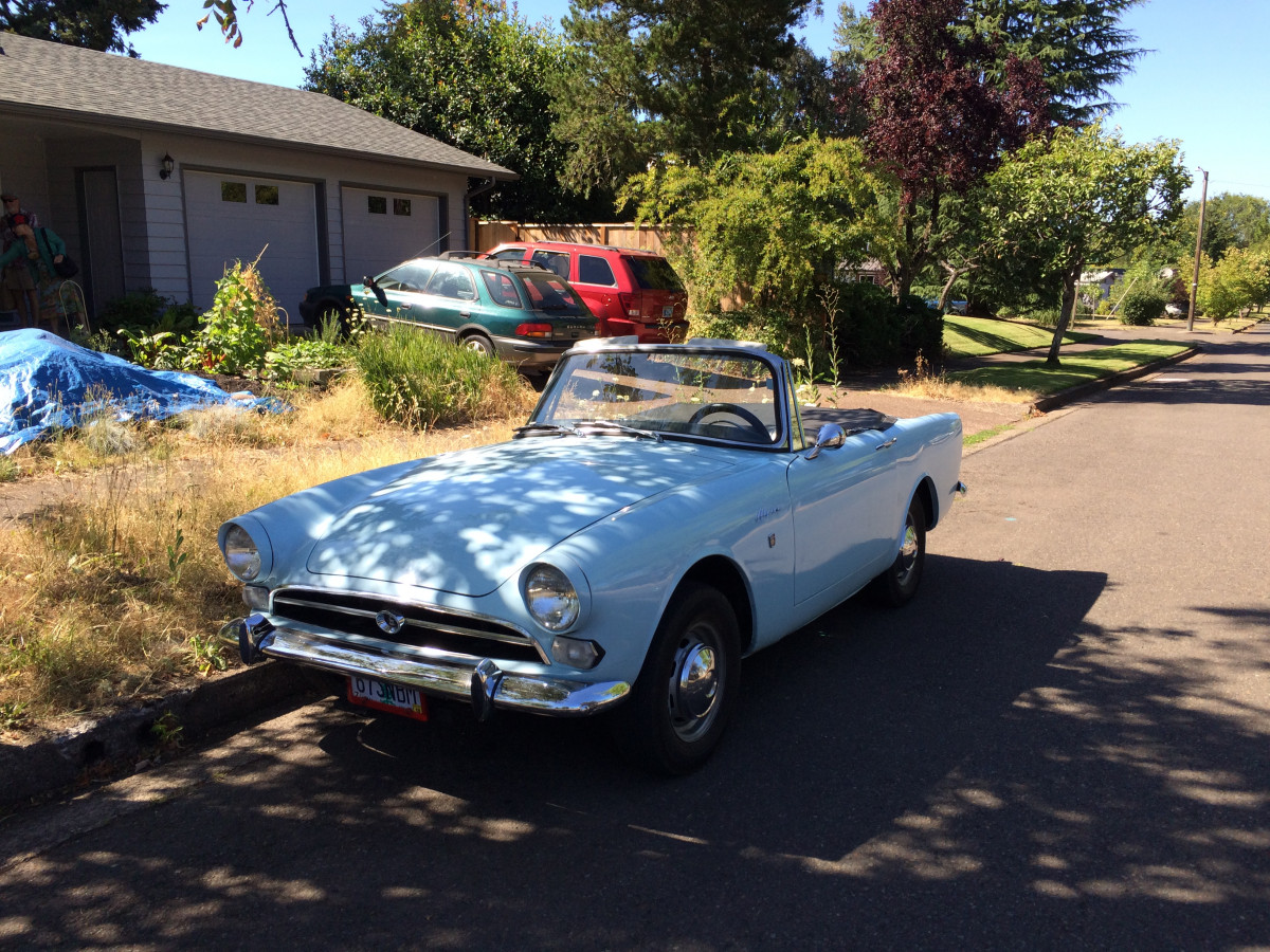 Curbside Classic Lite 1967 Sunbeam Alpine Let S Try To Remember