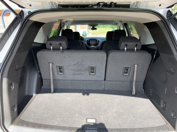 2019 Chevrolet Traverse Cargo Space