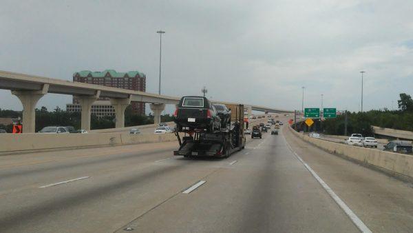 Hearse in Houston