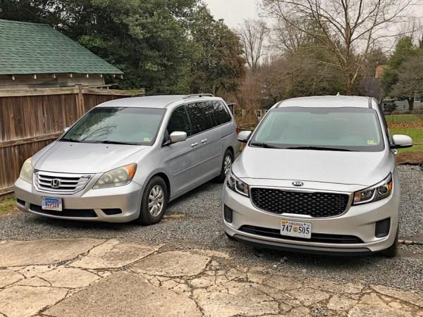 Honda Odyssey and Kia Sedona