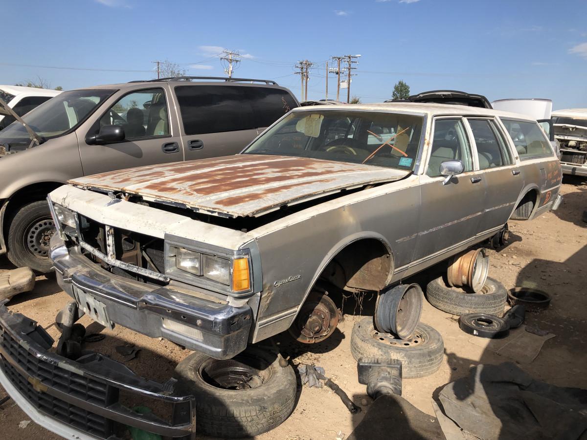 junkyard classic 1983 chevrolet caprice classic wagon goodbye jumbo curbside classic 1983 chevrolet caprice classic wagon