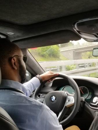 2019 BMW 750d Interior