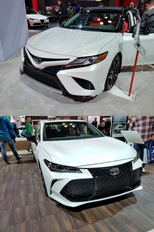 toyota camry and avalon all-wheel drive