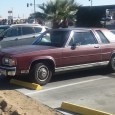 Back in 2013, Jason Shafer posted an outtake of a maroon 2 door Grand Marquis Box Panther. While vising a friend in the California High Desert, I spotted its twin […]