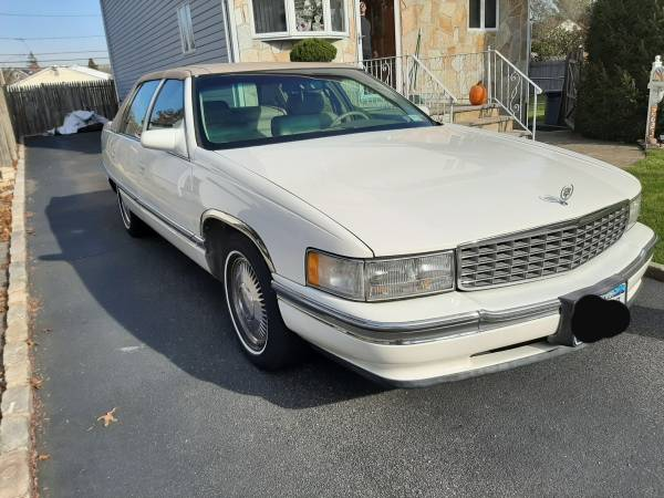 coal 1995 cadillac sedan deville the white whale of long island sound curbside classic coal 1995 cadillac sedan deville the