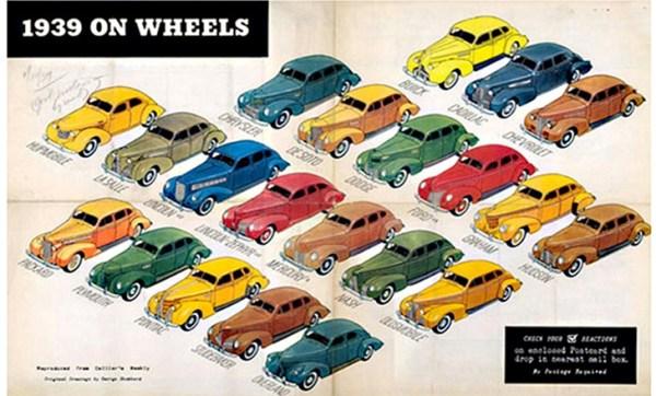 1939 Car Poster