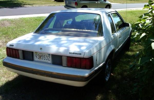 1979 Ford Mustang passenger side rear