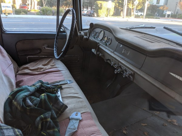 1965 International Travelall interior