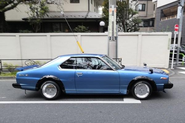 Nissan Skyline C210 coupe (profile)
