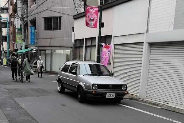 VW Golf 2 (front)