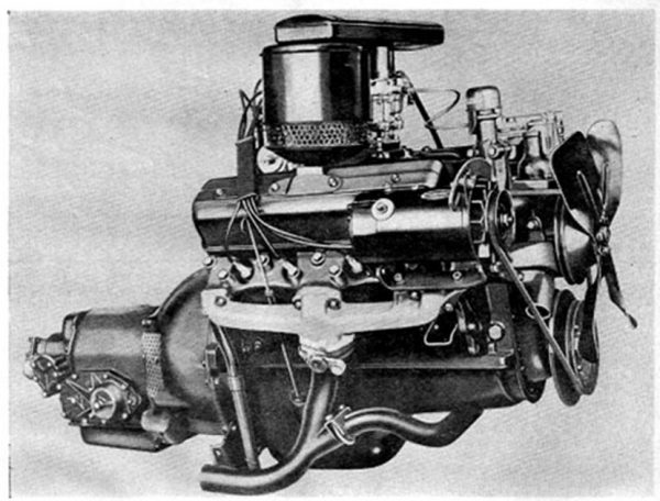 Studebaker V8 engine 1951