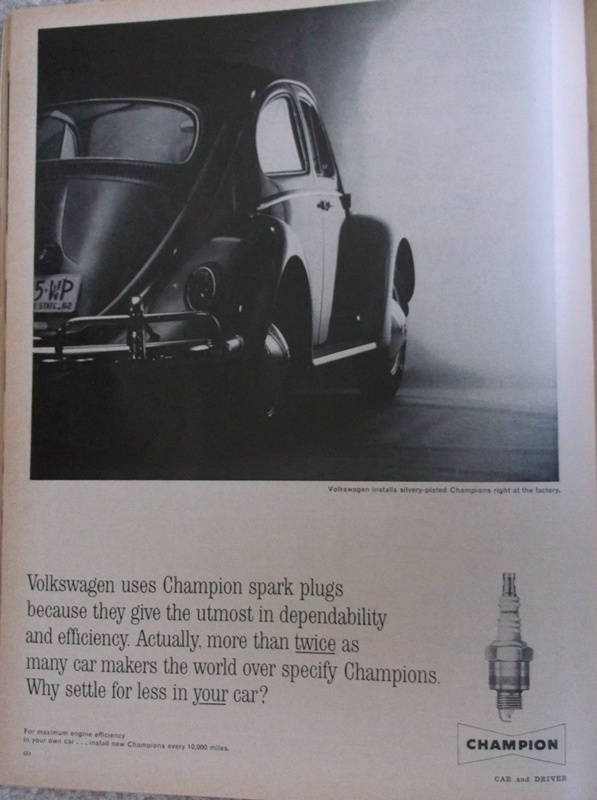 Champion Plugs Volkswagen