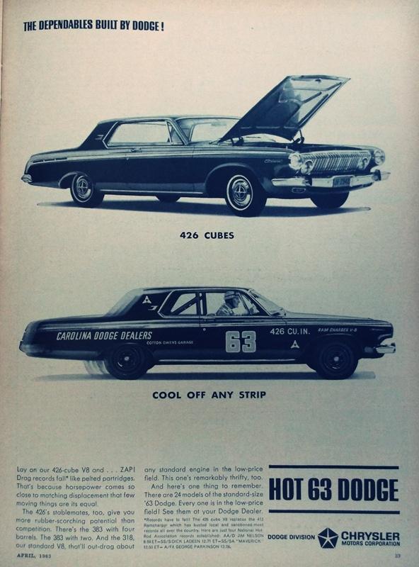 1963 Dodge 426