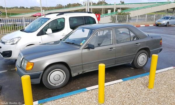 Dark Grey Mercedes-Benz 260 E W124