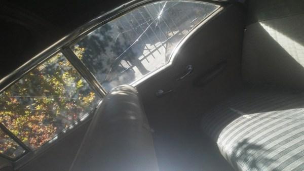1957 Oldsmobile Golden Rocket 88 Holiday Sedan interior