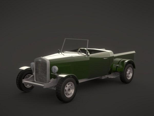 3D render in Blender