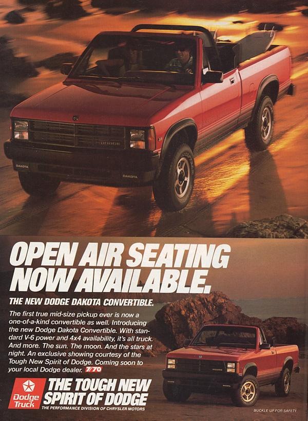 curbside classic 1988 dodge dakota not too big not too small curbside classic curbside classic 1988 dodge dakota