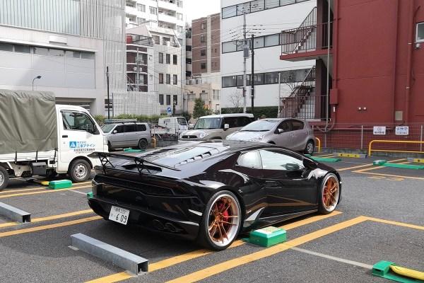 Lamborghini Huracán (rear)