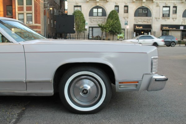1977 Lincoln Continental Town Coupe, shot 3 of 8
