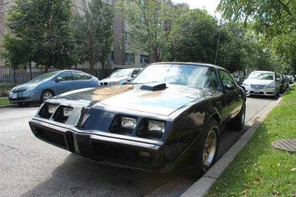 1981 Pontiac Firebird Trans Am, front three-quarter view