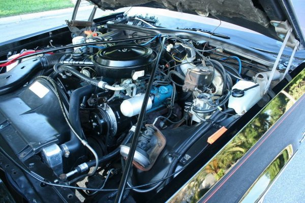 1977 Oldsmobile Delta 88 with Chevrolet Engine