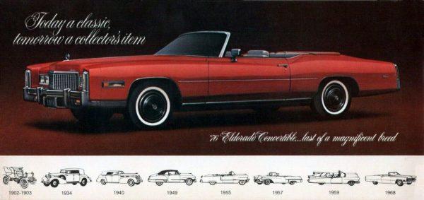 1976 Cadillac Eldorado brochure