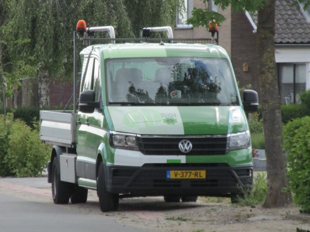 VW Crafter flatbed truck - 2