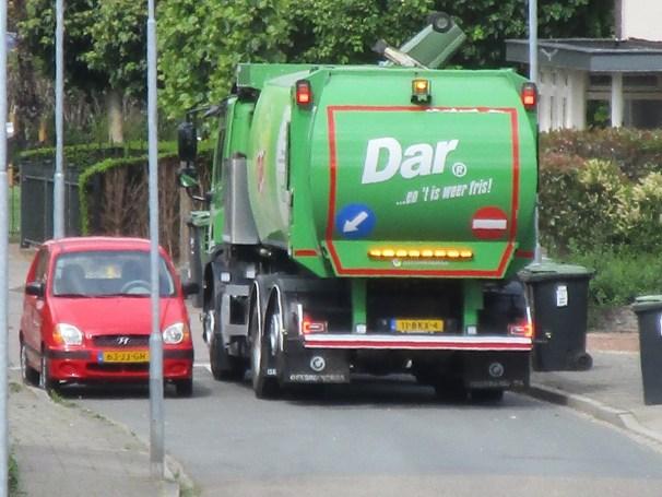 DAF CF garbage truck - 3
