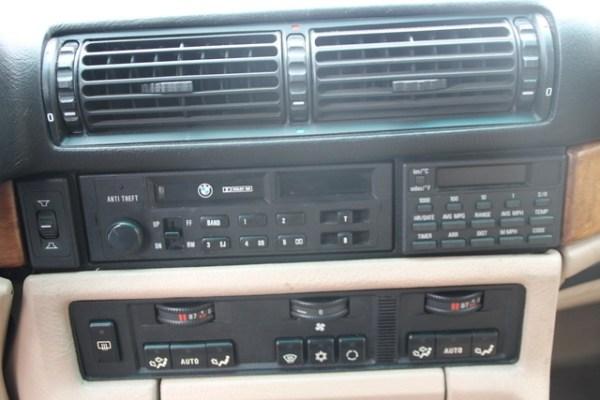 1998 BMW 750iL Climate Control