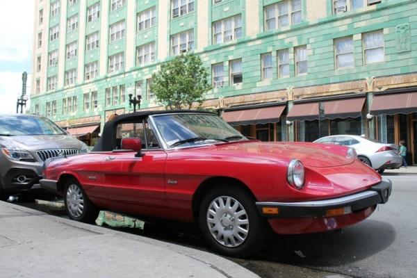 1988 Alfa Romeo Spider Graduate, Edgewater, Chicago, Illinois.