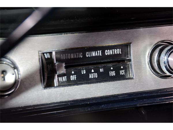 1967 Cadillac Automatic Climate Control