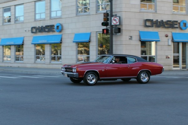1970 Chevrolet Chevelle SS. Uptown, Chicago, Illinois. Sunday, October 13, 2013.
