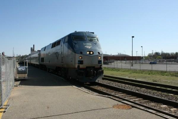 Battle Creek Amtrak station, 3/26/2012.