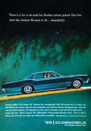 1965 Oldsmobile Jetstar 88 ad