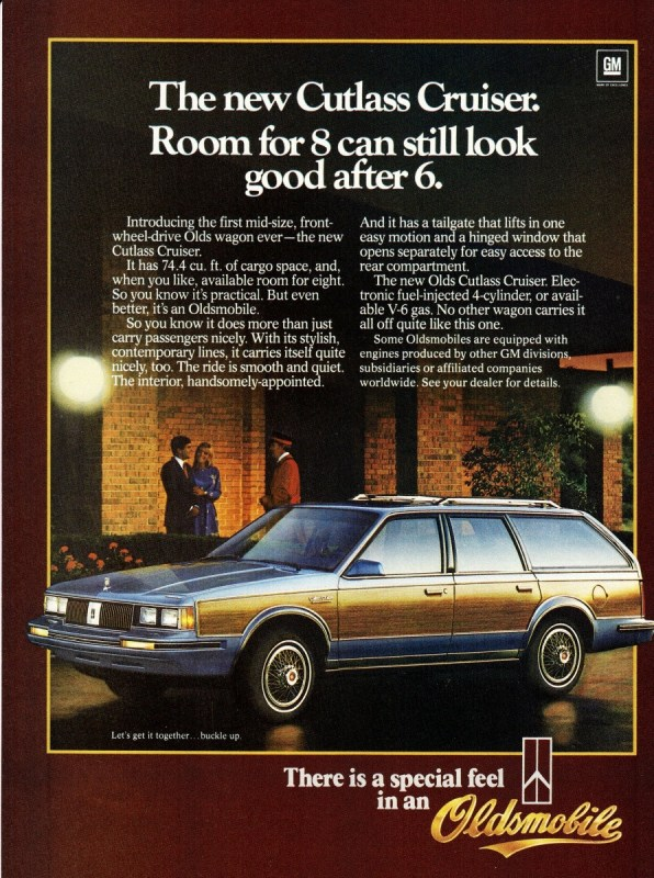 1984 Oldsmobile Cutlass Cruiser Wagon
