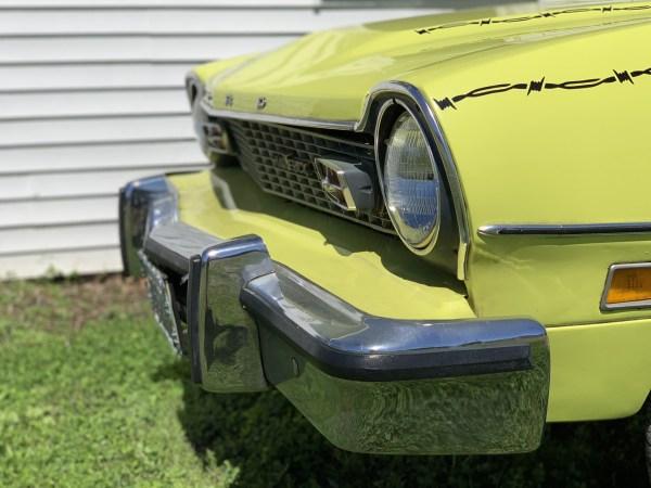 1974 Ford Maverick Bumper